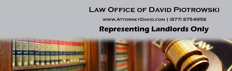 Law Office of David Piotrowski - Evictions