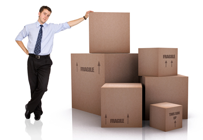 Moving Boxes with Person